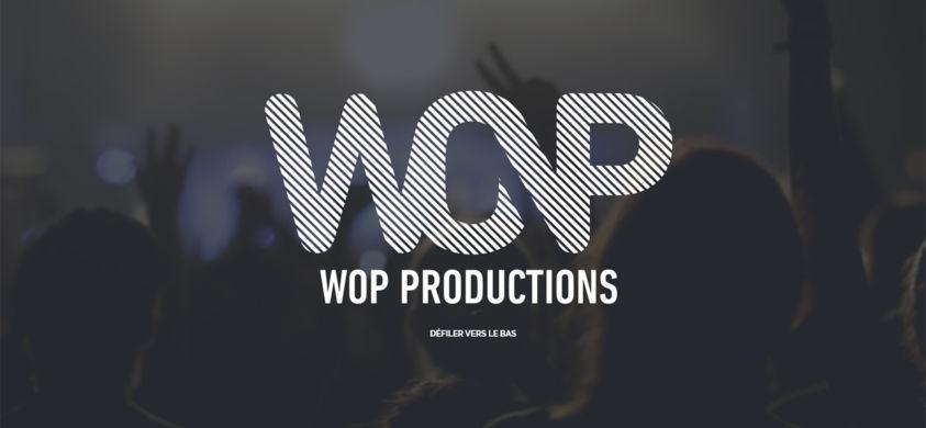 Site web : Wop-productions